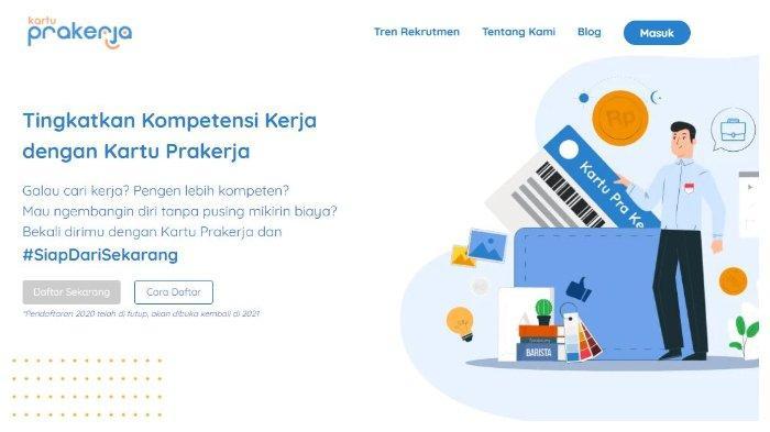 Cara dan Syarat Daftar Kartu Prakerja Gelombang 12 Tahun 2021, Segera Cek www.prakerja.go.id