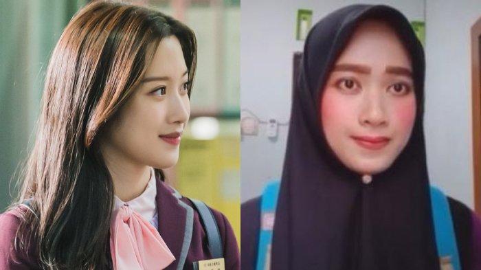 Viral Video TikTok Wanita Mirip Lim Ju Kyung di Drakor True Beauty, Mengaku Hanya Iseng